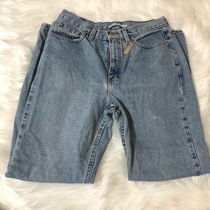Tommy Hilfiger High Rise Mom Wedgie Jeans Sz 12